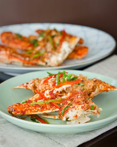 Fried Crabs with Chili Sauce (Cua Sốt Ớt)