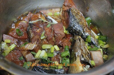 Braised Fish with Young Jackfruit Recipe (Cá Kho Mít Non)