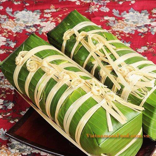 ... banh chung fried panfried banh chung vietnamese tet rice cake banh