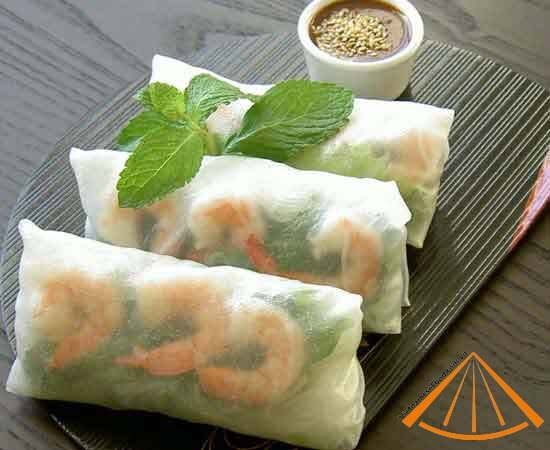 Fresh Vegetable Spring Rolls With Filipino Garlic Sauce Recipes ...