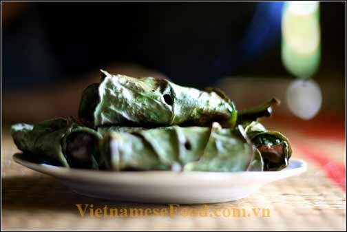 vietnamesefood.com.vn/grilled-buffalo-with-troong-leaf