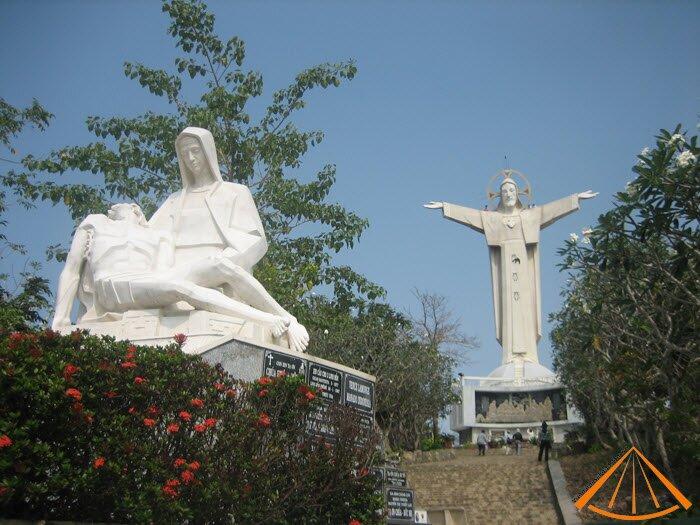 Statue Jesus in Vung Tau